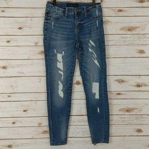 Rock & Republic Distressed Skinny Jeans size 4